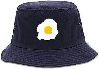Kings Of NY Fried Egg Breakfast Chest Mens Bucket Hat Cap