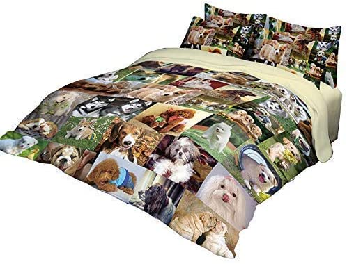 Some reservation RuiHome 3-Piece Students Dorm Bed Duvet Cover 205 Set Thread Year-end annual account Cou