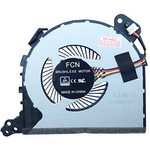Ventilador de ventilador compatible con Lenovo IdeaPad 320-17ABR (80YN000GGE), 320-17ABR (80YN000JGE), 320-17AST (80XW0012GE), 320-17AST (80XW006PGE), 320-17AST (80XW0013GE)