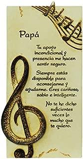 PERGAMINO DE PIEDRA LABRADA CON TEXTOS PARA OCASIONES ESPECIALES, IDEAL PARA REGALO ORIGINAL Y ECONÓMICO. ESPECIAL PAPÁ