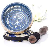 Silent Mind Tibetan Singing Bowl Set (Blue)