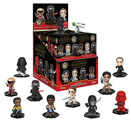 Funko - Star Wars Rise of Skywalker - Mystery Mini Store Display with 12 Sealed Boxed Figures image