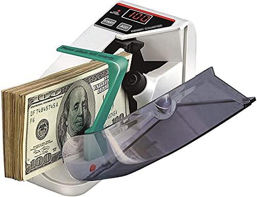 XiangRuiDa Mini Billete de Banco portátil Cash Billetes de Banco Contador de denominación Contador Contador Moneda Máquina de conteoBeautiful
