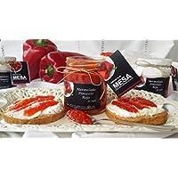 Conservas de Sufli, Purés de fruta (Mermelada de pimiento rojo) - 12 de 250 gr. (Total 3000 gr.)