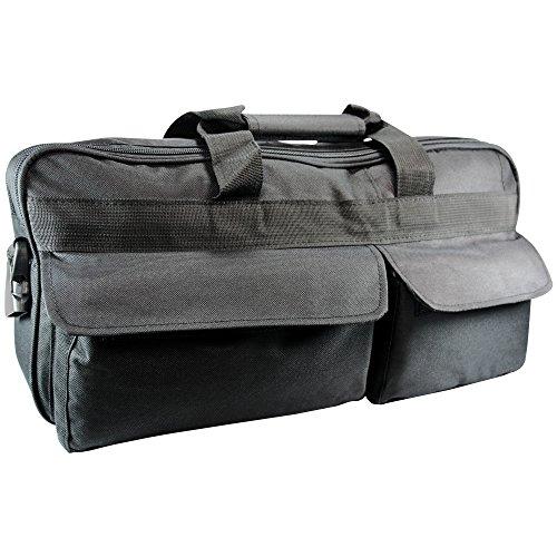 Medizinische Tasche für Sauerstoffflasche 2 L Schwarz Nylon