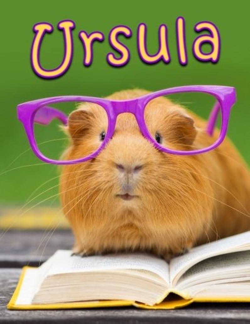製造採用高価なUrsula: Personalized Book with Name, Journal, Notebook, Diary, 105 Lined Pages, 8 1/2