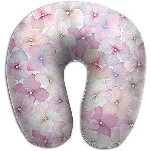 Cojín Gtrgh con diseño de Flor de melocotón Rosa, Almohada para el