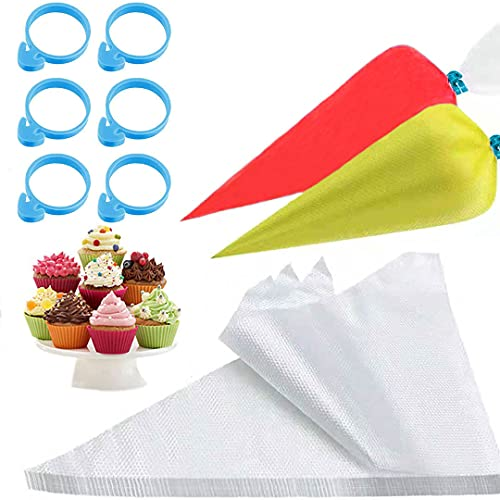 Thickened-Piping bags-Disposable Pastry bag-100pcs...