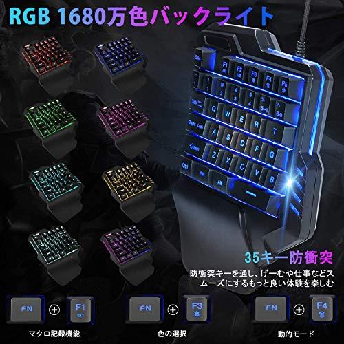 TOPOWN『RGBゲーミングキーボードマウス』