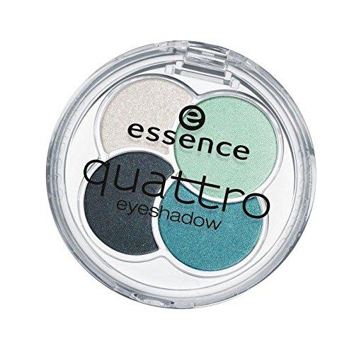 essence - Lidschatten - quattro eyeshadow - 13 laugh, love, lime
