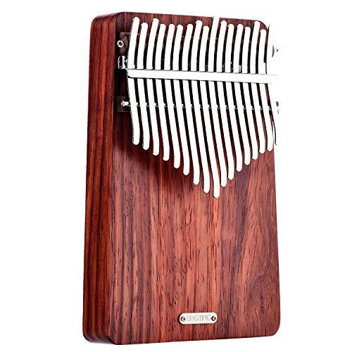 CHENTAOMAYAN 17 Tasten Thumb Piano Kalimba lingting LT-K17A t17 Schlüssel Kalimba Mbira Thumb Piano (Hören zum Wind)