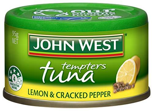 John West Thunfisch Versucher Zitrone Und Geknackt Pfeffer 95gm