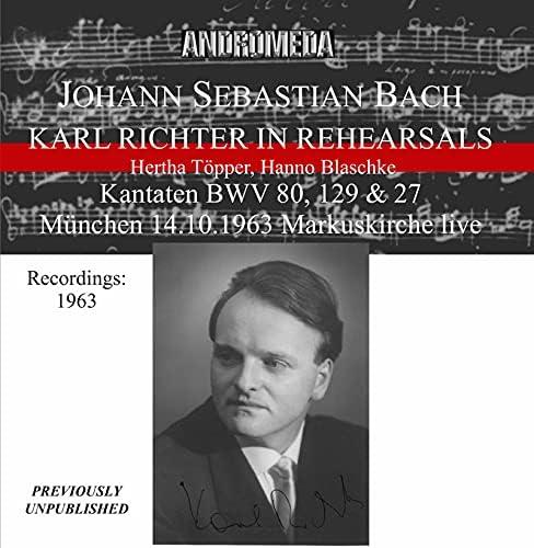 Karl Richter, Münchener Bach-Chor & Münchener Bach-Orchester