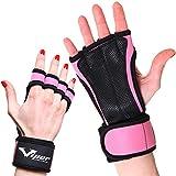 Trainingshandschuhe für Crossfit und Kraftsport Workout - Handflächenschutz Grip Handschuhe für...