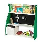 SoBuy KMB09-GR Librería Infantil para Guardar Juguetes Libros Estantería...