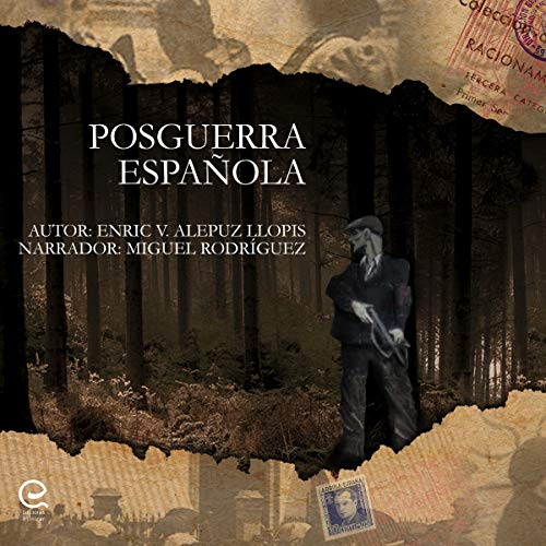 Posguerra Española [Spanish Postwar Period] audiobook cover art