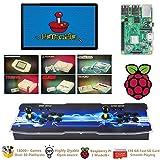 TAPDRA Raspberry Pi 3 Model B+ (B Plus) Arcade Cabinet Machine Video Game...