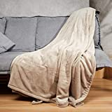 WOOMER [New] King Size 100'x 90' Electric Heated Throw Blanket, Dual Controllers, 10 Heat Levels &...