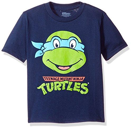 Price comparison product image Nickelodeon Little Boys' Toddler Teenage Mutant Ninja Turtles Group T-Shirt,  Navy,  3T
