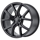 20' Inch Replica 181SB Track Hawk 20x10 5X127(5X5') +50mm Satin Black Wheel Rim