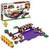 Les jeunes constructeurs peuvent créer toutes sortes de défis dans une Jungle Cassis toxique construite en briques, pour compléter leur Pack de Démarrage LEGO Super Mario avec cet Ensemble d'extension Le marais empoisonné de Wiggler (71383). Comprend...