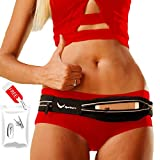 [Voted #1 Running Belt] Runners Fanny Pack for iPhone 6, 7, X, XR