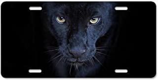 CafePress Black Panther Aluminum License Plate, Front License Plate, Vanity Tag