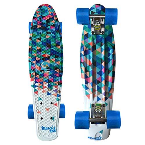 SHUANGA Skateboard Komplett Board 7-lagigem Ahornholz, für Anfänger Kinder Jugendliche und Erwachsene