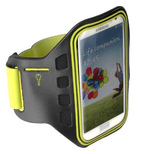 yayago Sportarmband Oberarmtasche Oberarm Tasche/Armband Sport Tasche in Neon-Grün für Samsung Galaxy S3 Neo i9300i