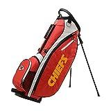 Wilson NFL Golf Bag - Carry, Kansas City, Red, 2020 Model