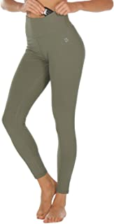 Melpoint Yoga Pants for Women - Running Workout Leggings,Athletic Exercise Capris Gym Tights