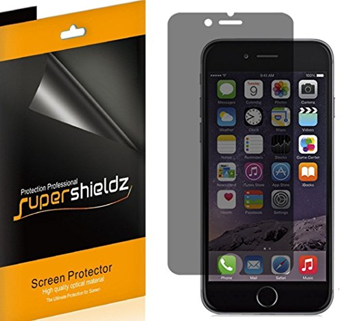 (2 Pack) Supershieldz (Privacy) Anti Spy Screen Protector Shield for Apple iPhone 6 Plus and iPhone...
