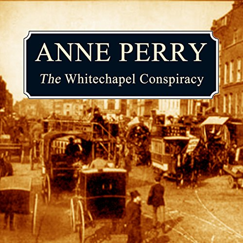 The Whitechapel Conspiracy audiobook cover art