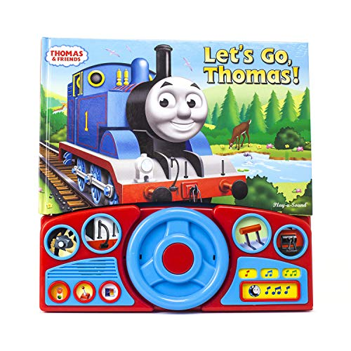 Thomas & Friends - Let's Go Thomas! Interactive Steering Wheel Sound Book - PI Kids