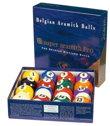 Set de bolas de Super Aramith Pro TV 57,2 mm