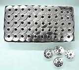 Cutex Brand 100 Metal Bobbins for Juki Ddl-8700 Single Needle Lockstitch Sewing Machines