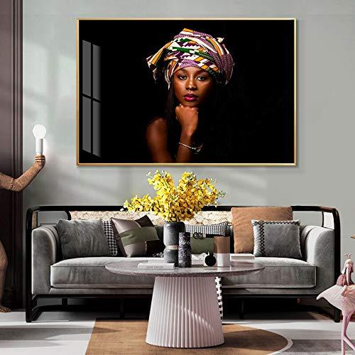 wZUN Afrikanische Moderne Mode Frauen nordische Plakate und Drucke Leinwand Malerei Wohnkultur skandinavische Wandbild...