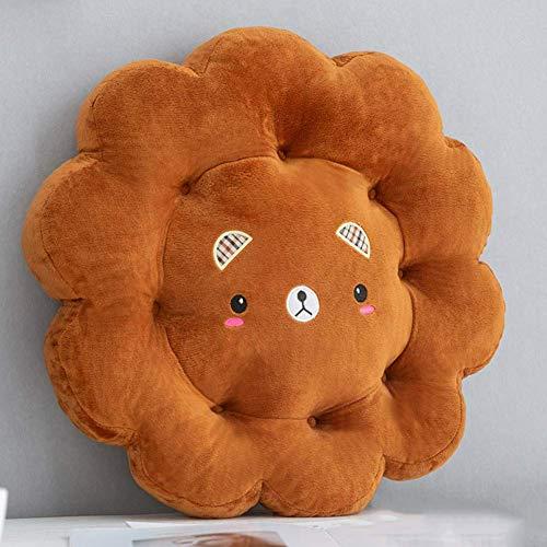 XHNXHN Cojín para Asiento de Flores, Cojines para sillas de Interior al Aire Libre Puede sobre el Suelo Dibujos Animados Encantadora Oficina Hogar Computadora Taburete de Comedor Cojines de Asiento
