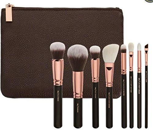 Set de maquillage pinceau 15 Set de café pinceau rose