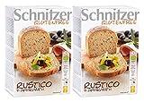Schnitzer Rustico con amaranth - Pan orgánico (2 x 250 g, 500 g, 2 unidades de 500 g)