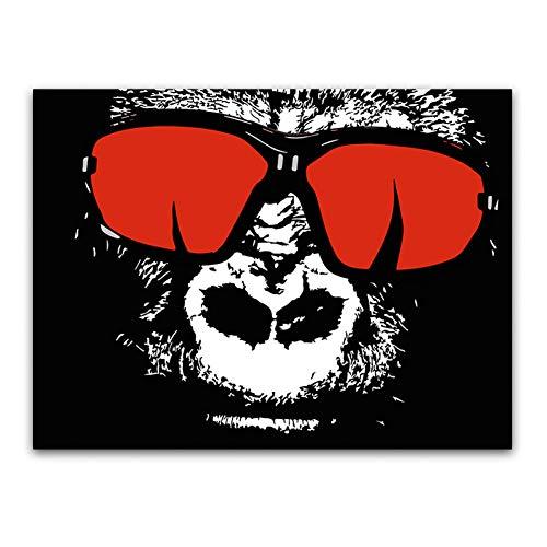 suhang aquarel abstracte vlinder dier canvas schilderij Pop Art muurschildering voor woonkamer kinderkamer Home Decor