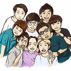ゆりやんレトリィバァ with トット、ミキ、さや香、ラニーノーズ「FAMILY TUNE」のCDジャケット