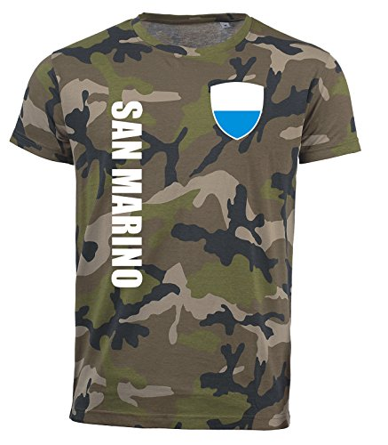 aprom San Marino T-Shirt Camouflage Trikot Look Army Sp/A (XL)