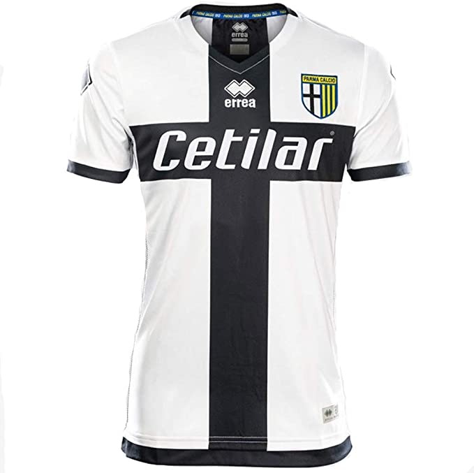 Errea MC Parma Calcio 1^MG Shop 19/20 Maglietta Sportiva Unisex ...