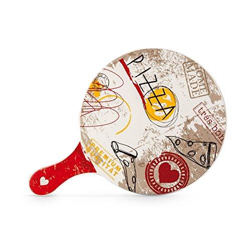 EGAN Tagliere in Ceramica Rotondo ø 25 cm