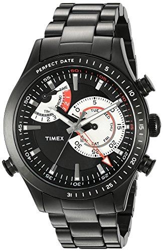 Timex Men's TW2P72800DH Intelligent Quartz Collection Analog Display Quartz Black Watch