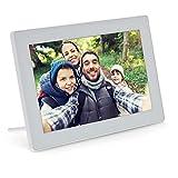 InLine 55821W - Marco de Fotos Digital con Wi-Fi, 10,1', 1280 x 800, Pantalla táctil LCD IPS, aplicación Frameo