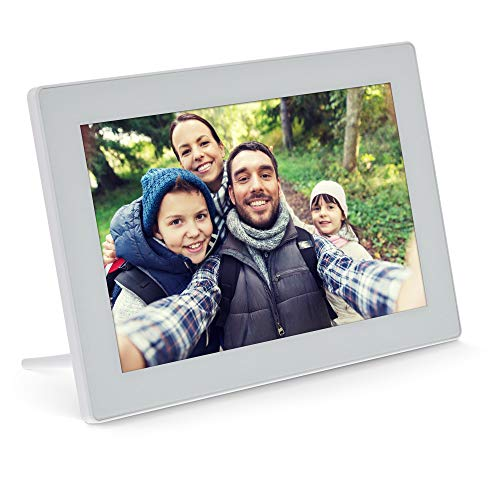 "InLine®, digitaler WiFi-Bilderrahmen WiFRAME, 10,1\""\"", 1280x800 16:9 LCD IPS Touchscreen, Frameo APP, weiß, 55821W"