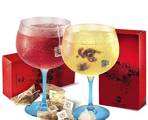 SABOREATE Y CAFE THE FLAVOUR SHOP Gin Botanicals & Spices Wild and Fruit - Gin Épices pour cocktails - 24 unités