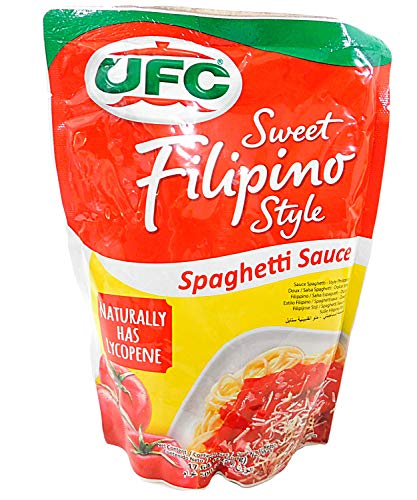 UFC Spaghetti Sauce, Sweet Filipino Blend, 500g pouch (pack of 2)
